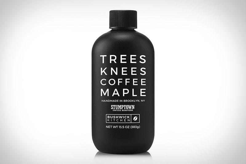 Coffee-Infused Maple Syrups