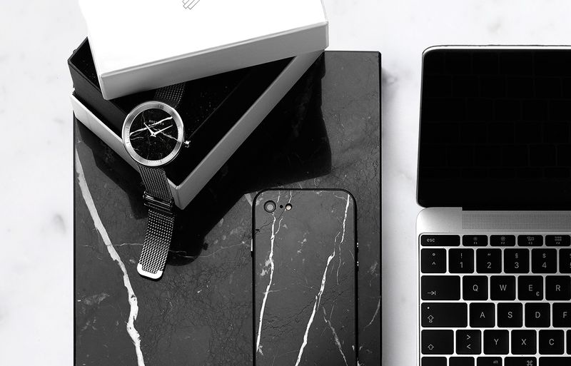 Polished Marble Smartphone Cases