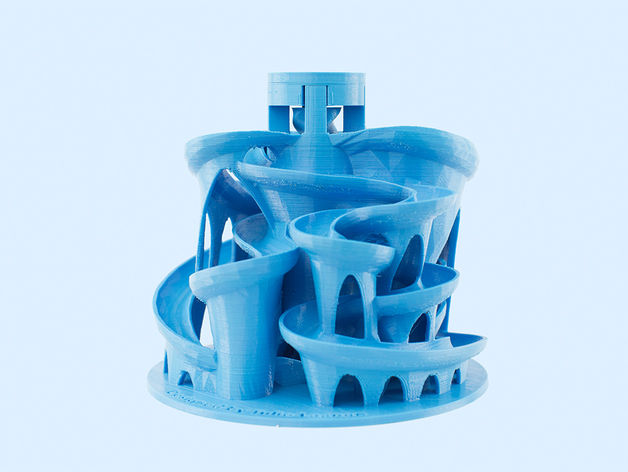 3D-Printed Marble Mazes
