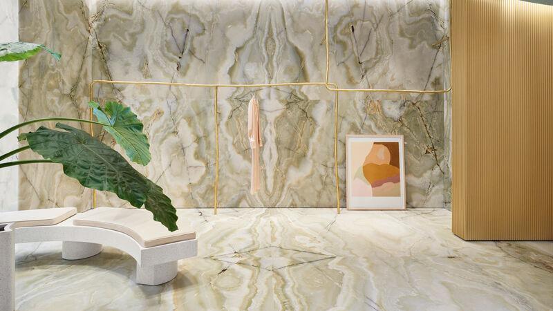 Ultra-Elegant Marble Retail Stores