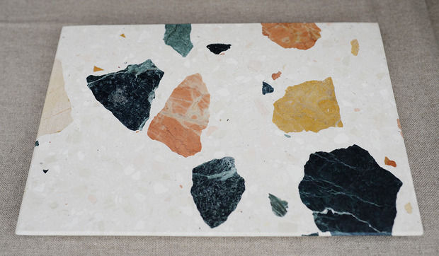 Multicolored Marble Slabs