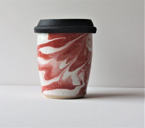 Stylish Marble Travel Mugs