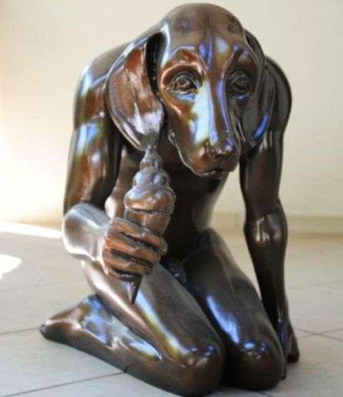 Nude Humanimal Sculptures