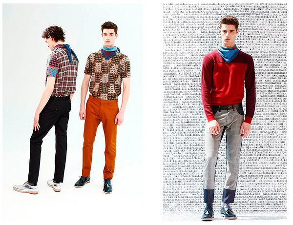 Retro Schoolboy Lookbooks
