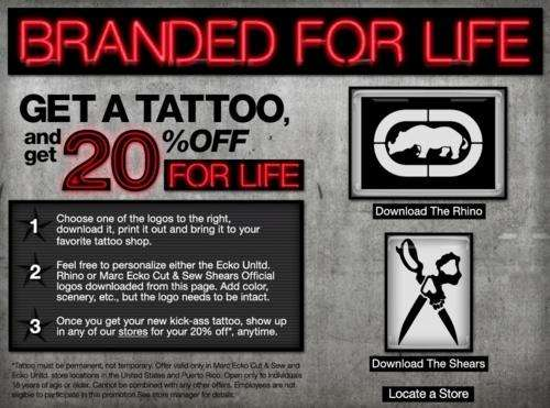 Inked Discounts