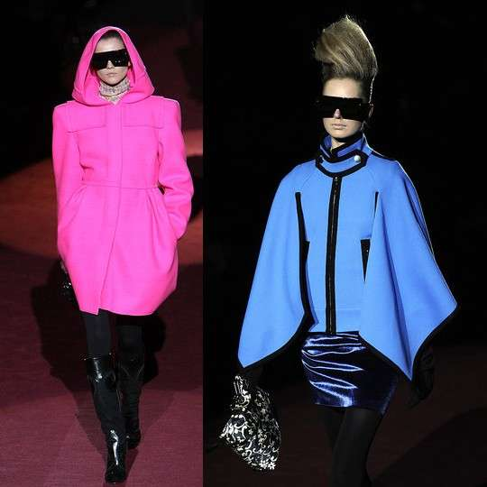 Fluorescent Winter Fashion