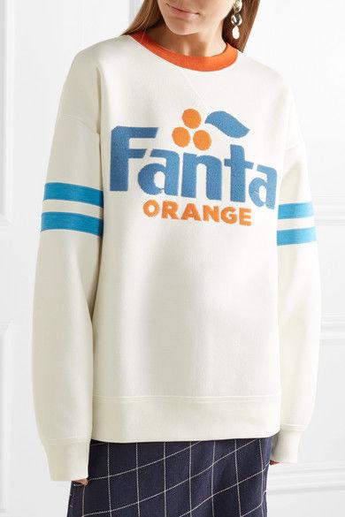 Sequined Soda-Branded Sweatshirts
