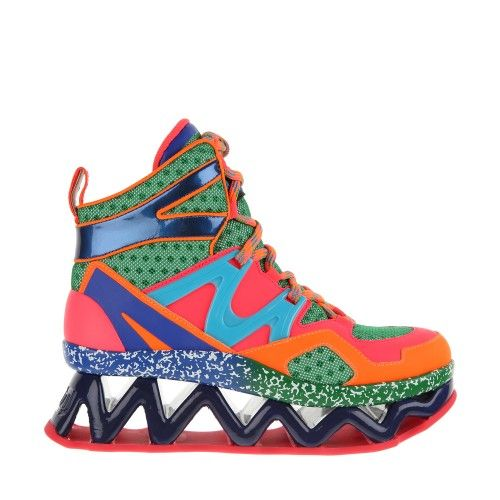 Technicolored Sneaker Couture