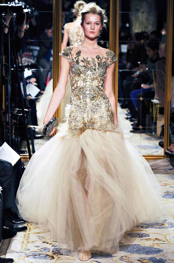 Intricately Embroidered Runways
