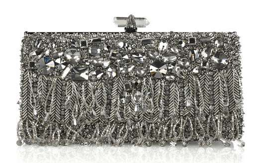 Crystal-Studded Clutches