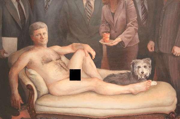Nude Political Portraits
