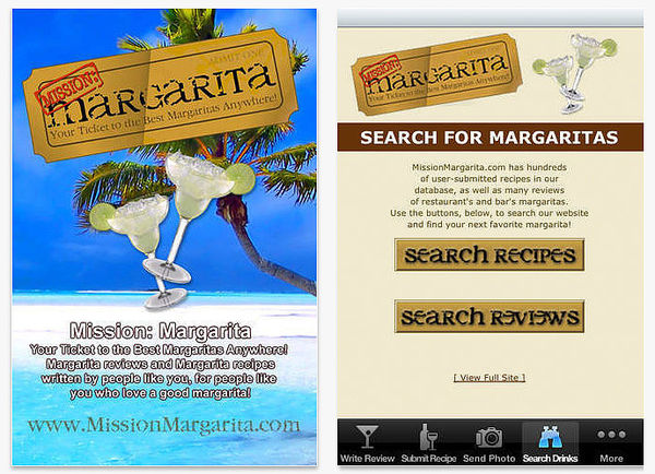 Margarita-Locating Apps