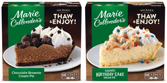 Thaw-and-Serve Dessert Pies
