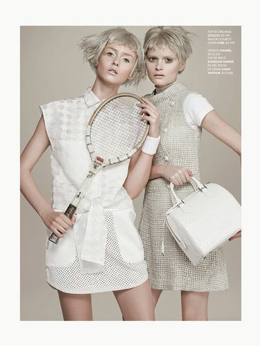 Ethereal Washed-Out Editorials