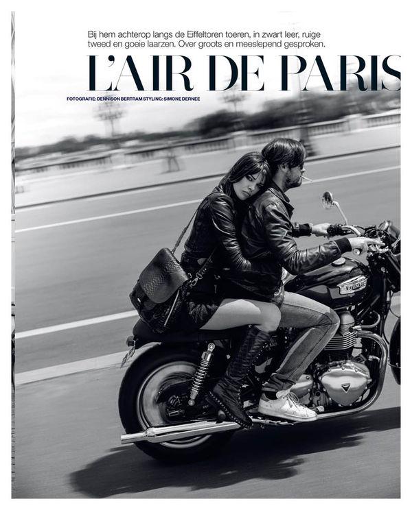 Parisian Biker Editorials