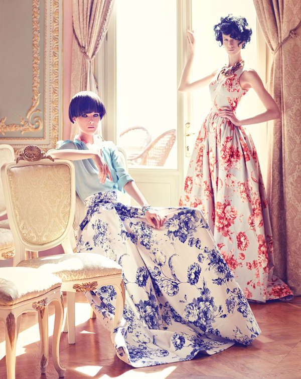 Courtly Couture Editorials