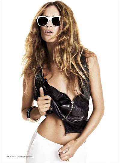 Bold Biker-Chic Editorials