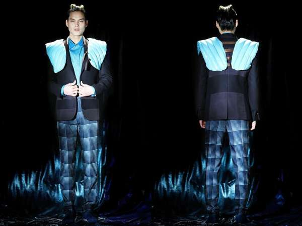 Sci-Fi Silhouette Menswear