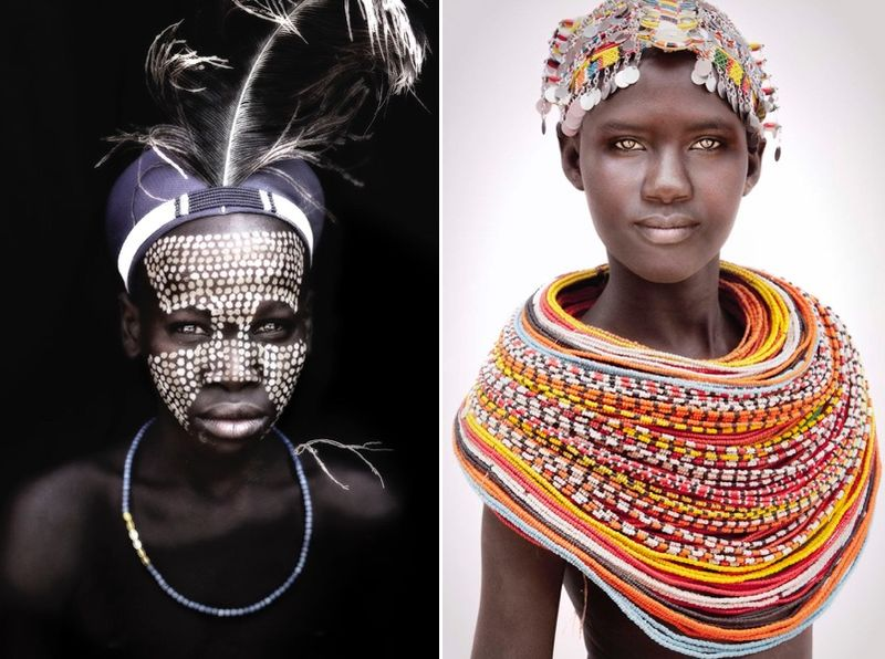 African Nomad Portraits