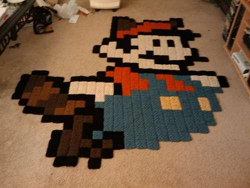 Crocheted Cartoons