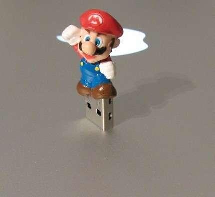 Geeky Nintendo USBs