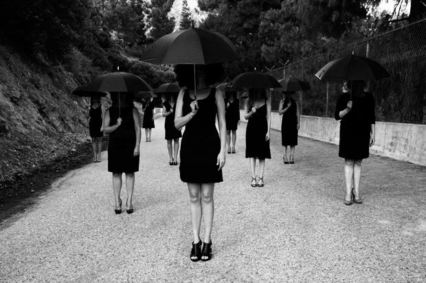 Melancholic Femininity Photography