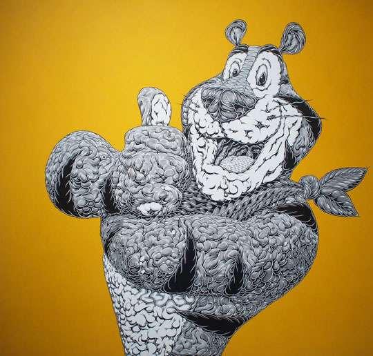 Iconic Mascot Paintings