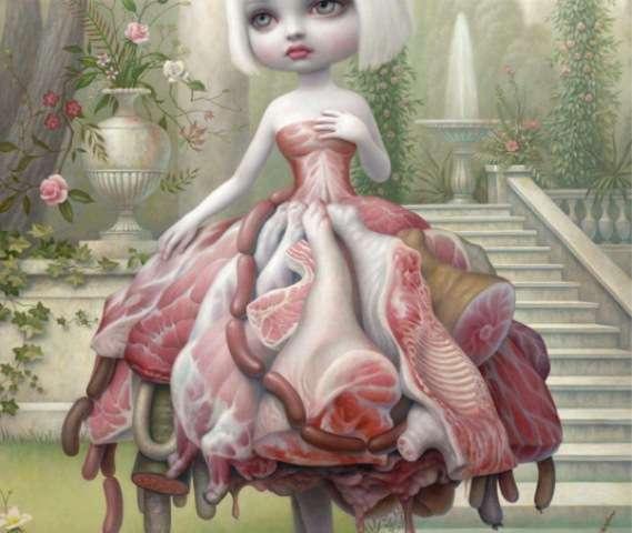 Morbid Meat Suit Paintings (UPDATE)