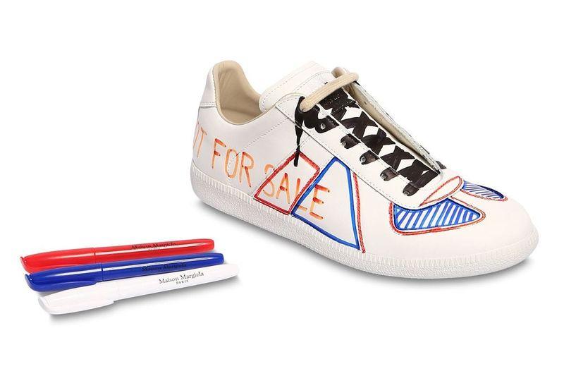 Marker DIY Luxe Sneakers