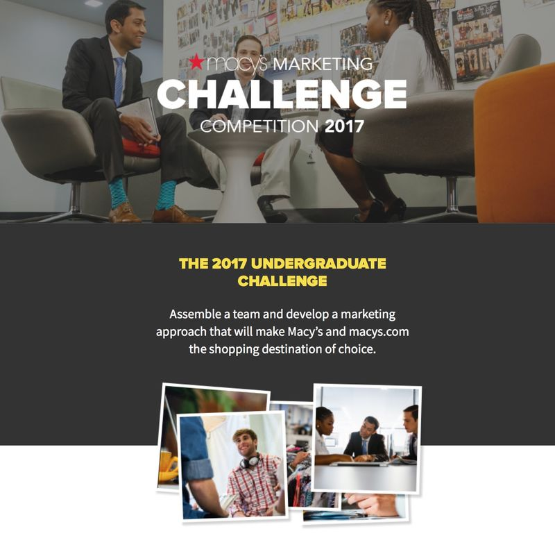 Undergrad Marketing Competitions