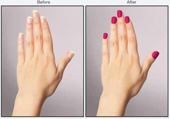 Virtual Manicure Tools