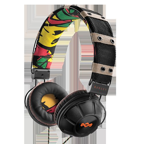 Eco-Friendly Rasta Headphones