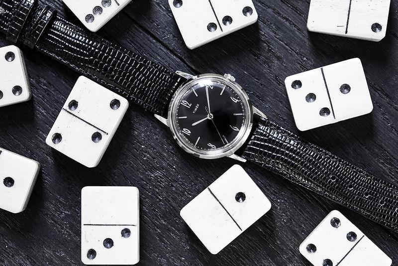 Dark Elegant Steel Timepieces