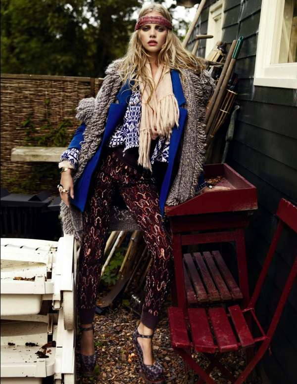 Beautiful Bohemian Editorials