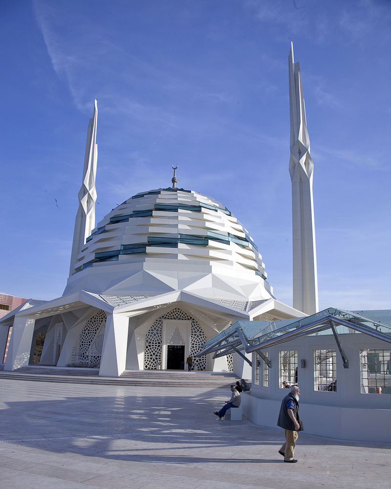 Modernist Mosque Designs