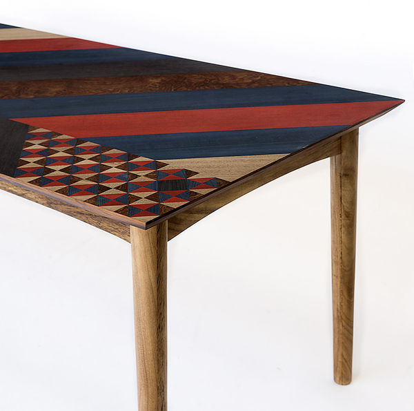 Intricate Marquetry Tables