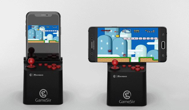 Arcade Console Smartphone Stands