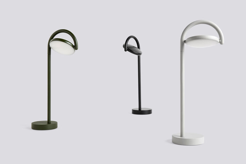 Danish-Inspired Rotating Lamps