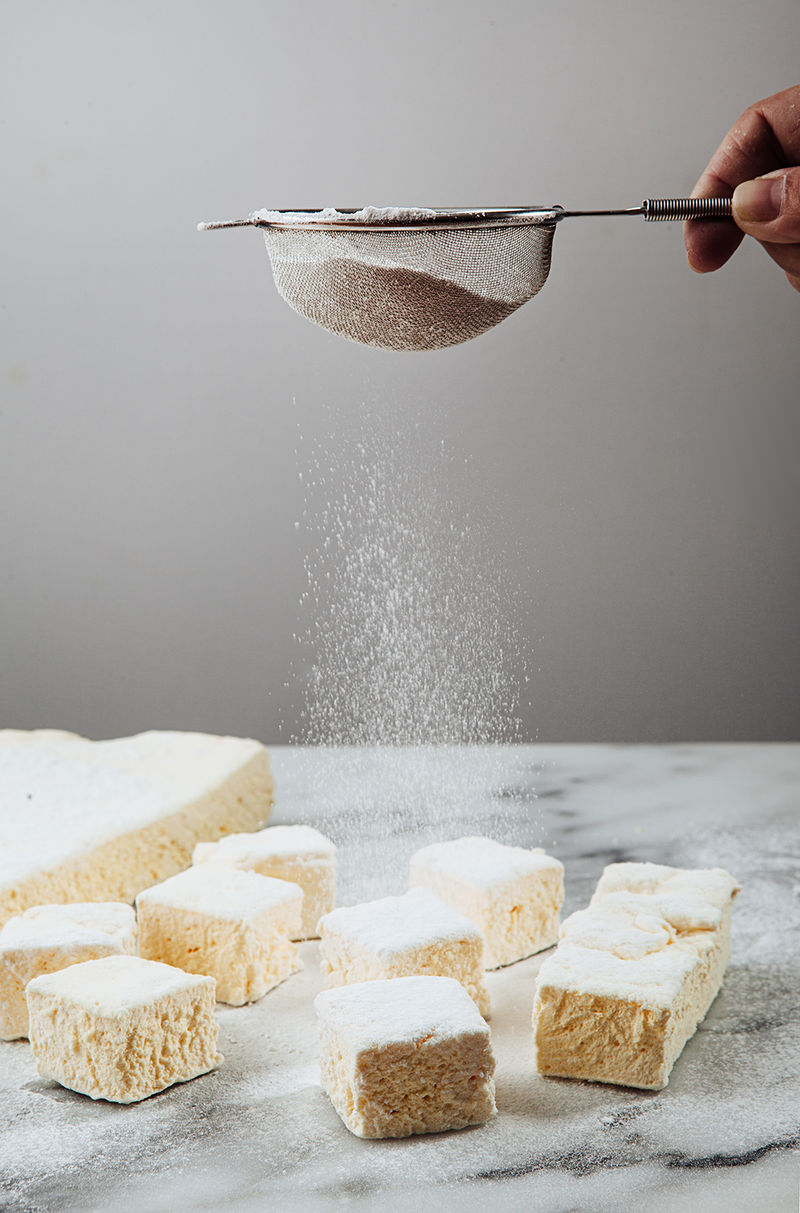 Savory Yogurt Marshmallows