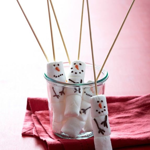 Festive Snowman Desserts