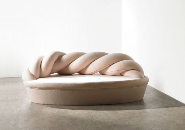 Braided Sugar-Like Sofas