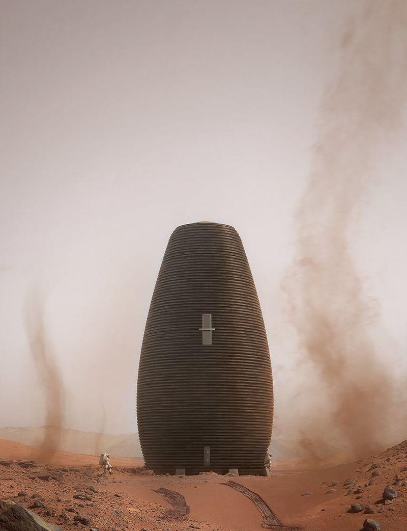 Redesigned Martian Habitats
