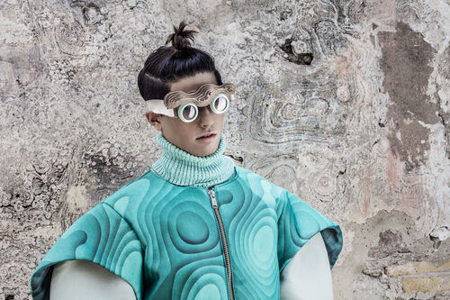 Sculptural Futurism Editorials
