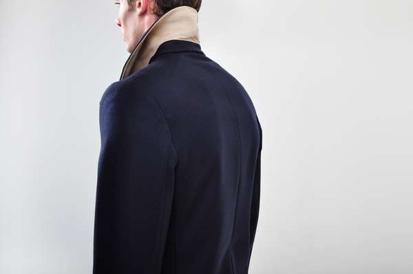 Under-Collared Outerwear