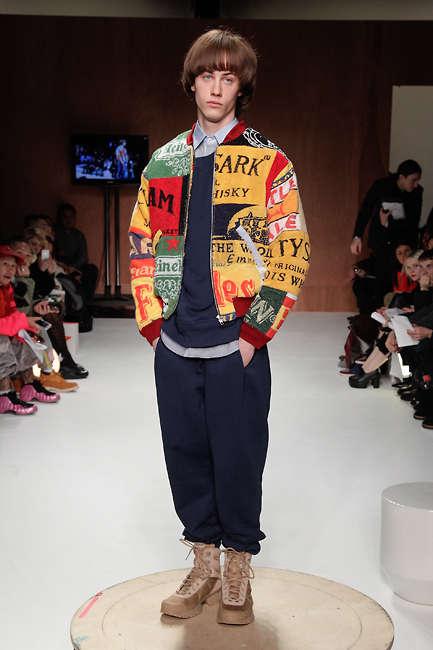 Zany Patchwork Menswear