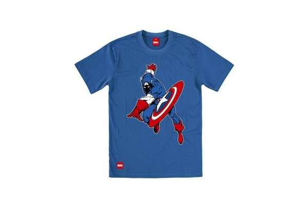 Superhero-Laden Sportswear