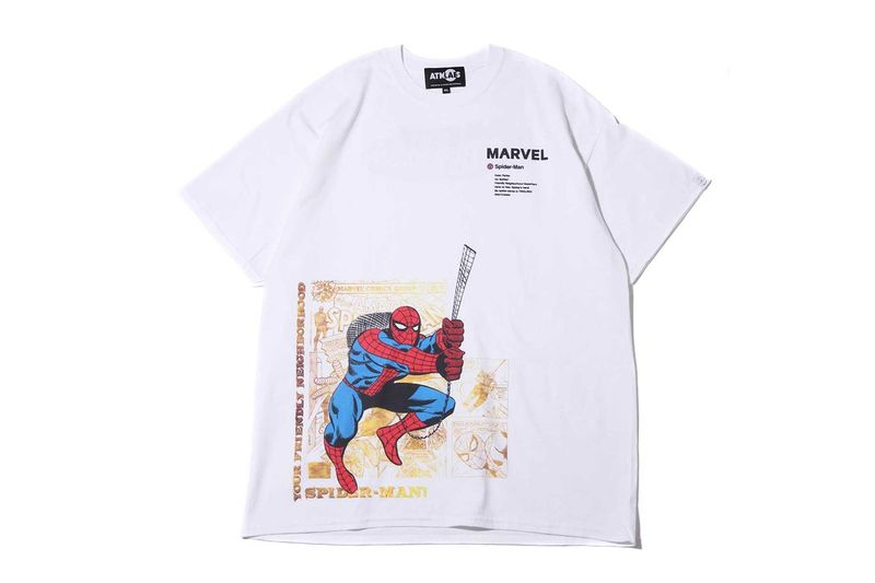 Superhero-Motif Graphic Tees