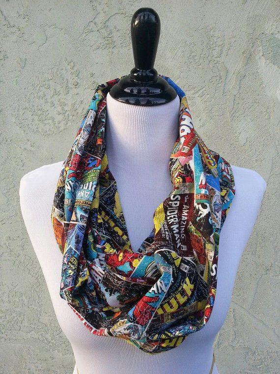 Comic Character Scarves