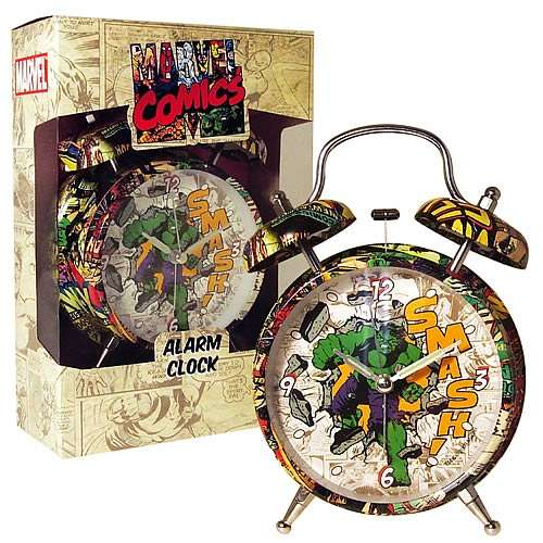 Retro Comic Alarm Clocks