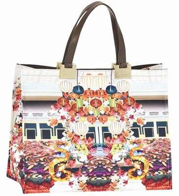 Poetically Printed Handbags